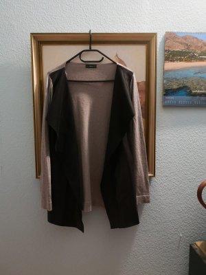 Cardigan Leder Imitat Fake