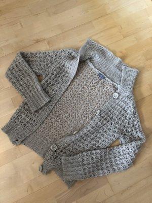 Naf naf Coarse Knitted Jacket cream