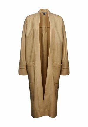 esprit collection Manteau oversized beige viscose