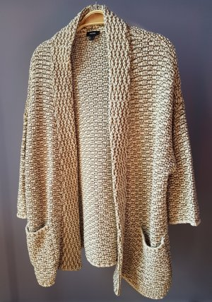 Mexx Coarse Knitted Jacket brown-cream