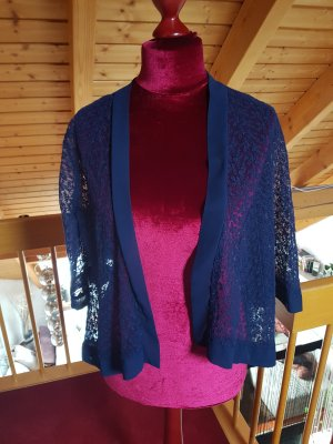 Cardigan mit Blumenapplikation