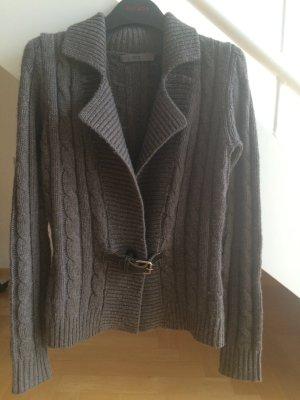 FFC Cardigan grey brown cashmere