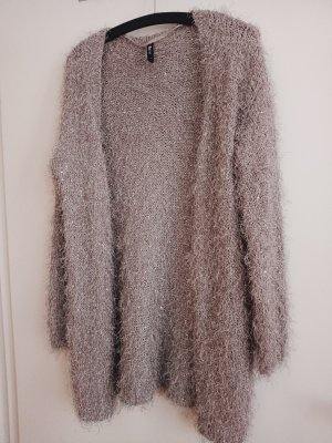 Flame Knitted Cardigan beige