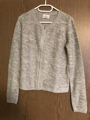 Blue Motion Cardigan grigio chiaro-bianco