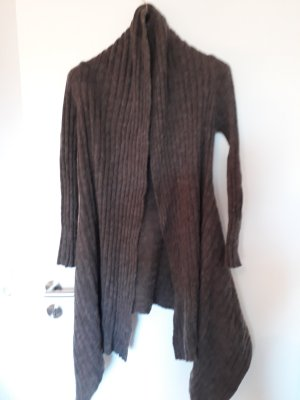 Long Sweater brown mohair