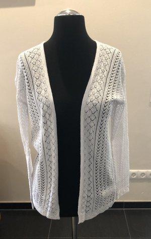 Esmara Cardigan en crochet blanc