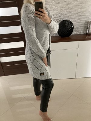 Pull long gris clair