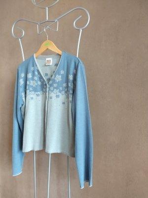 Oilily Cardigan grigio ardesia-blu pallido