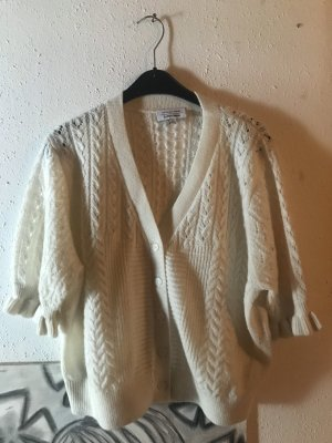 & other stories Knitted Cardigan natural white