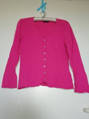 CPM the Collection! Cardigan magenta cotton