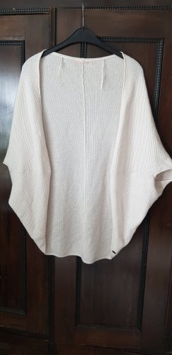 Tom Tailor Denim Poncho bianco sporco