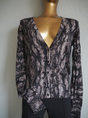 Cardigan-Pulli Snakeprint Gr. 36 Trendy Look