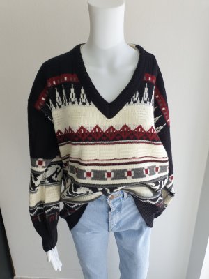 Cardigan Pullover Sweatshirt Strickjacke Hoodie oversize sweater Pulli True Vintage Jacke L Bluse