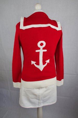 """Cardigan """"Red Anchor"""" von Miss Fortune"""