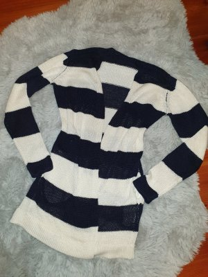 Reserved Jersey largo blanco-negro