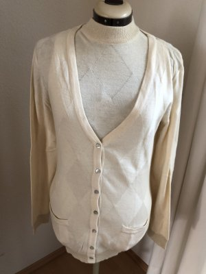 Cardigan-Set in Wollweiss