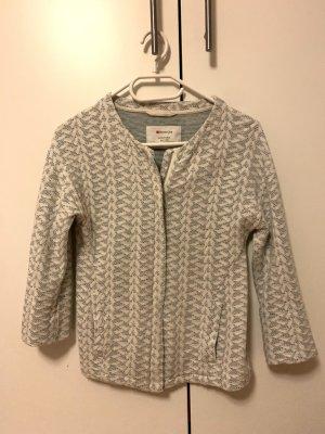 Street One Knitted Blazer azure-white