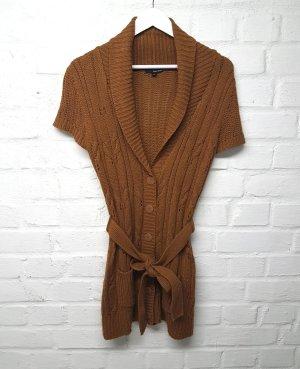 Tally Weijl Veste tricotée en grosses mailles cognac-brun acrylique