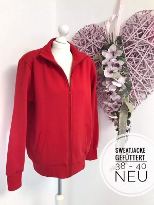 Cardigan Strickjacke neu 38 rot Oberteil Outdoor sweatjacke Jacke sweater Oberteil Pulli Pullover