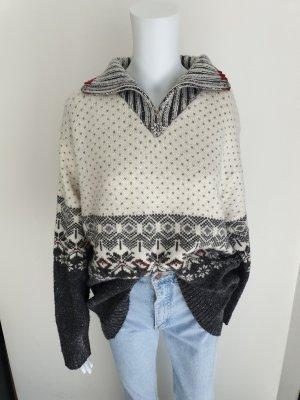 Cardigan Strickjacke Pullover Hoodie oversize sweater Pulli True Vintag Jacke L Bluse Hemd