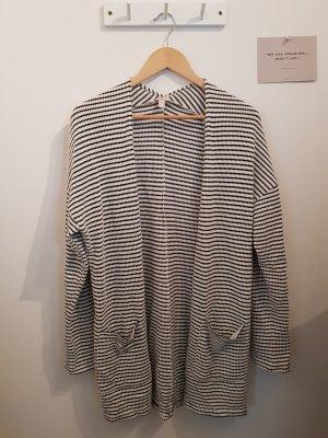 Esprit Szydełkowany sweter biały-czarny