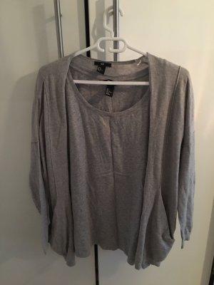 Cardigan / T-Shirt von H&M