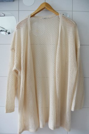 Janina Crochet Sweater natural white-cream