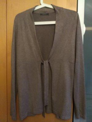 Esprit Knitted Vest sand brown viscose