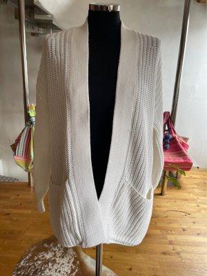 360 Sweater Kurtka oversize biały