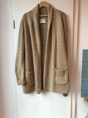 Adenauer & Co Knitted Cardigan beige