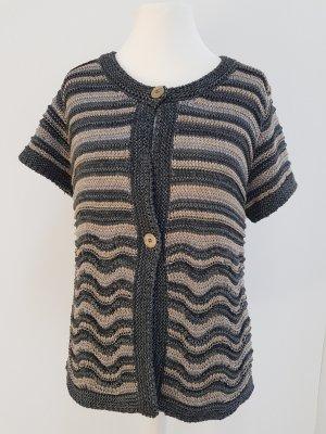 Bonita Short Sleeve Knitted Jacket multicolored