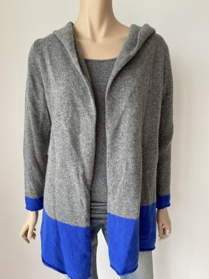 Brookshire Knitted Cardigan blue-grey wool