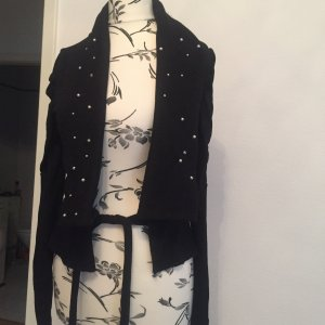 Blind Date Wraparound Jacket black