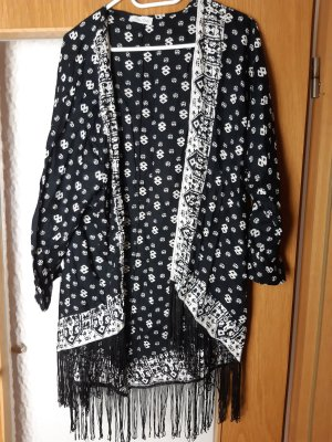Aniston Cardigan white-black
