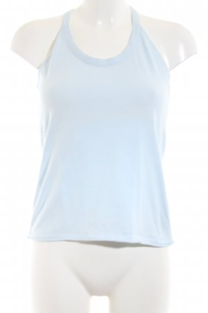 Carell Thomas Basic Top blau Casual-Look