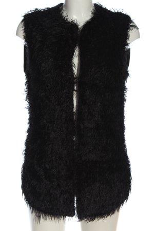 Carell Thomas Fake Fur Vest black casual look