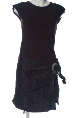Carell Thomas Shortsleeve Dress brown-black casual look