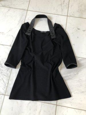 Carell Thomas Long Sweater black mixture fibre