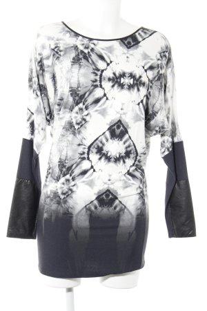 Carell Thomas Sweat Shirt light grey-black mixed pattern casual look