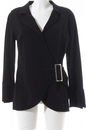 Carell Thomas Wickeljacke schwarz Business-Look