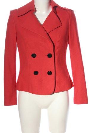 Caren Clark Korte blazer rood casual uitstraling