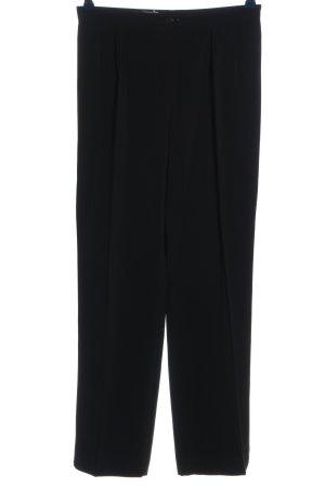 Caren Clark Stoffen broek zwart zakelijke stijl