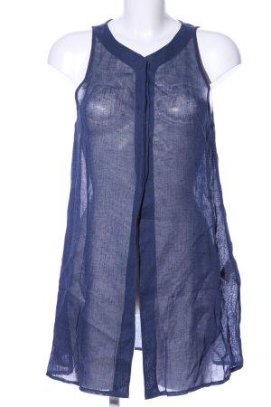 Caren Pfleger Blusenkleid blau meliert Casual-Look