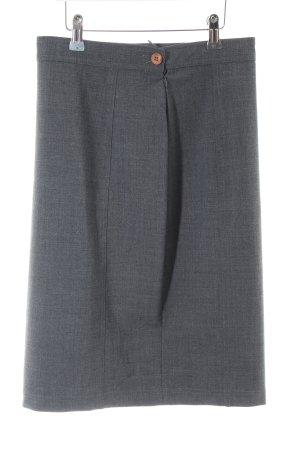 Caren Pfleger Ołówkowa spódnica jasnoszary Melanżowy W stylu biznesowym