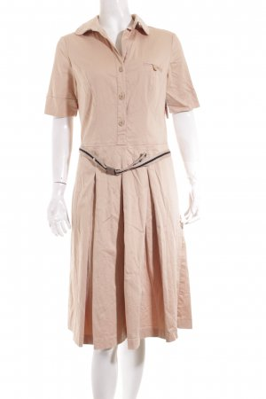 Caren Pfleger Sukienka koszulowa beżowy W stylu casual