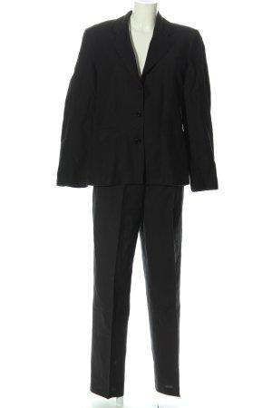 Caren Pfleger Tailleur pantalone nero stile professionale