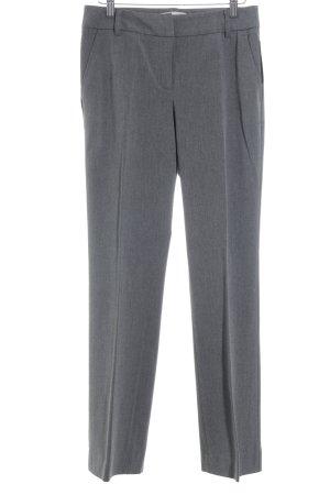 Caren Pfleger Spodnie materiałowe szary Melanżowy W stylu biznesowym