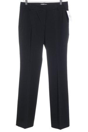 Caren Pfleger Spodnie materiałowe czarny W stylu biznesowym