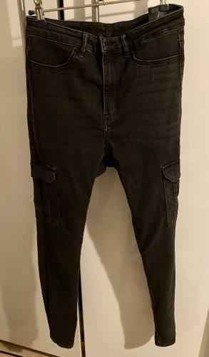Cargo High Waist Jeans von H&M  Divided