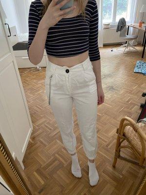 BGD Urban Outfitters Bojówki biały